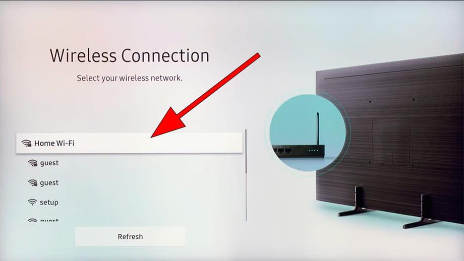 Select network SmartHub