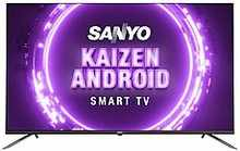 Sanyo 139 cm (55 inches) Kaizen Series 4K Ultra HD Smart Certified Android IPS LED TV XT-55A082U (Black) (2019 Model)